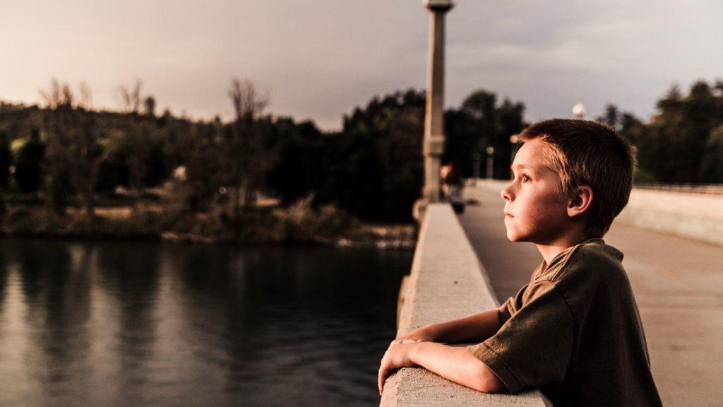 Boy at the Bridge