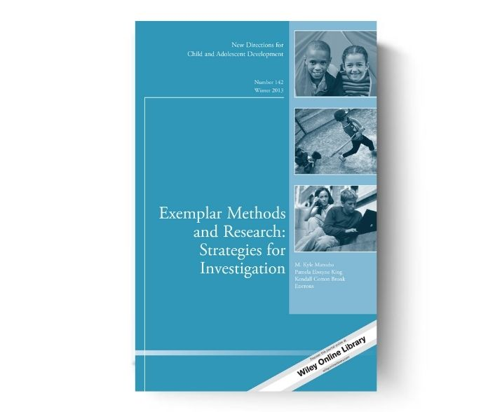 Exemplar Methods and Research special issue cover