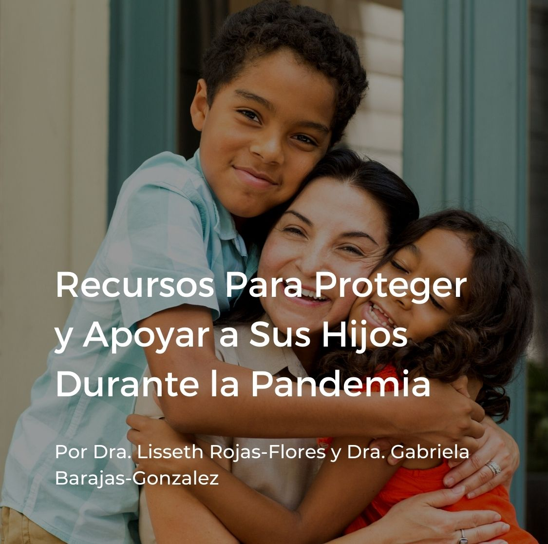 Cover for Spanish webinar on parenting during COVID-19